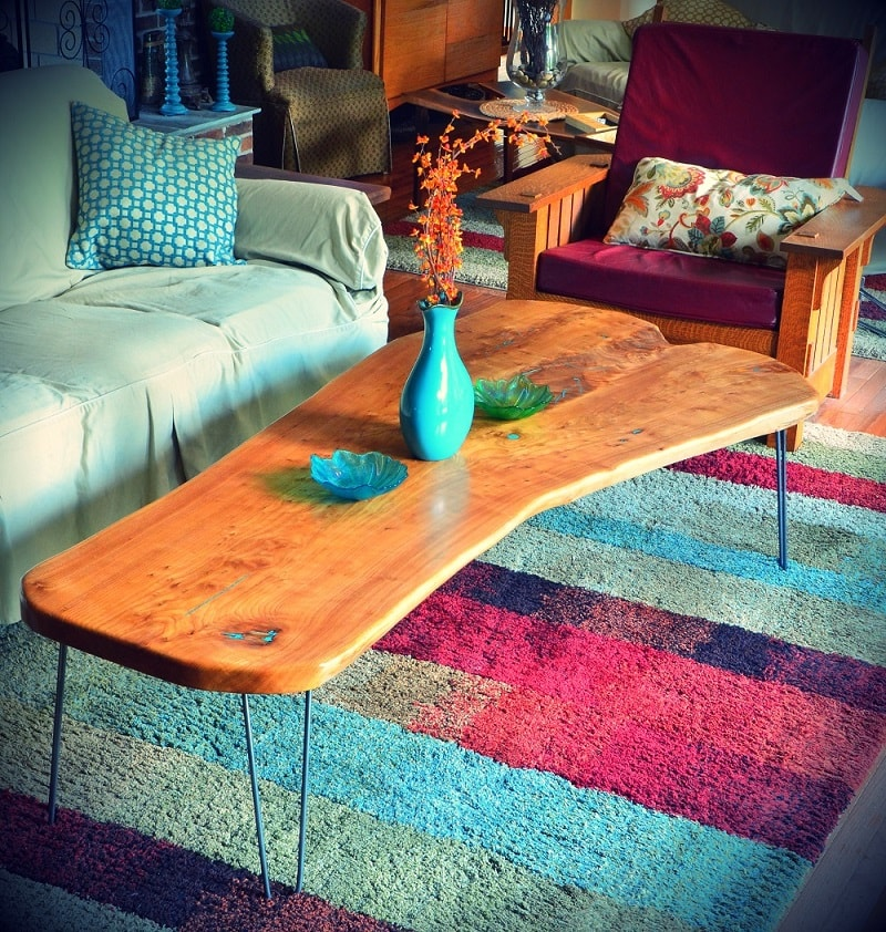 American Elm Coffee Table